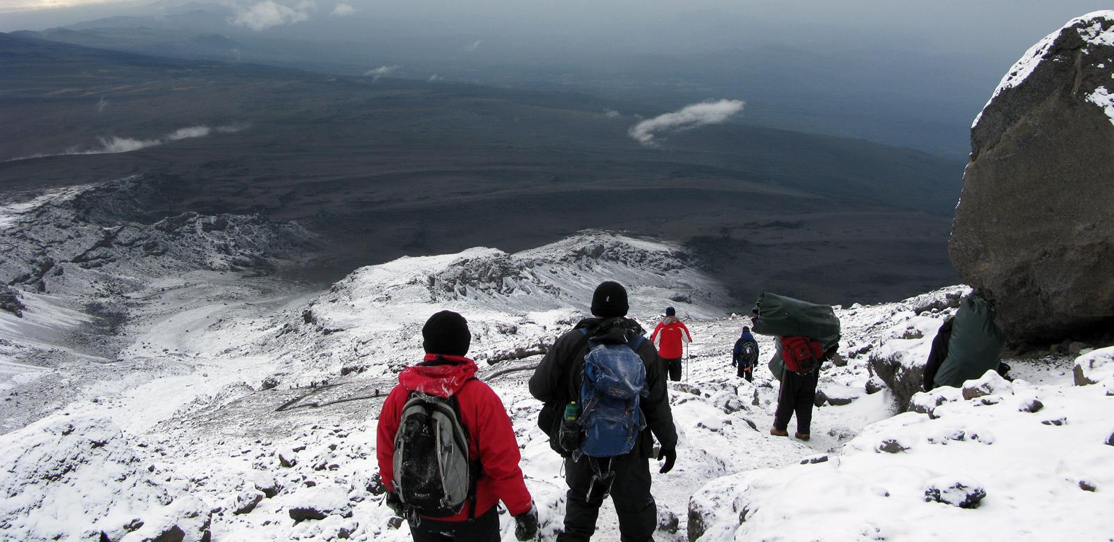 Summit on the Summit Water.org Mount Kilimanjaro Global Water Crisis