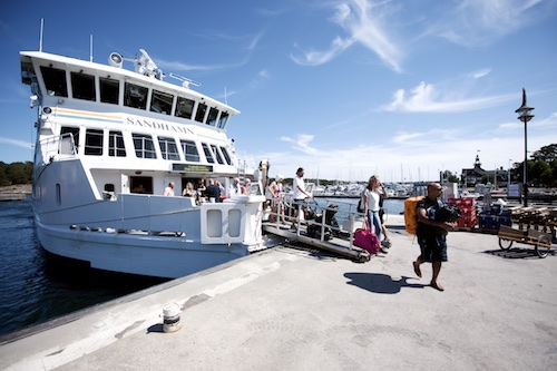 Approximately 600,000 tourists visit the island community ever summer.