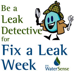 epa, fix a leak week, watersense
