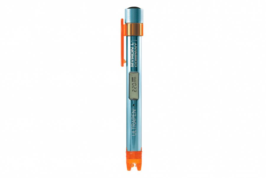 Pocket Tester Measures Free Chlorine, Temperature