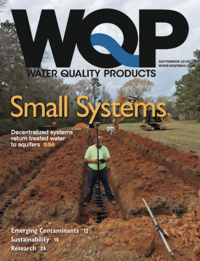 September 2018 issue of Water Quality Products Magazine
